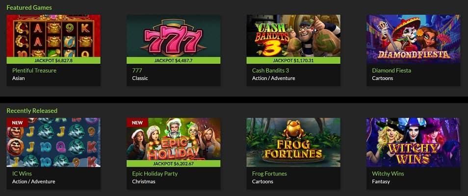 Pokies Selection - Raging Bull Casino