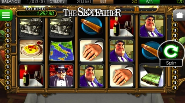The SlotFather Pokie - Mobile Device