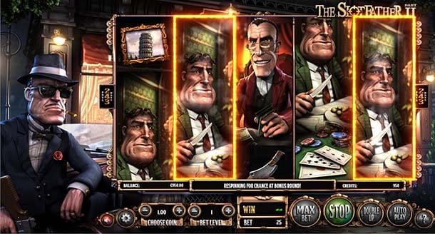 The Slotfather Part II by Betsoft