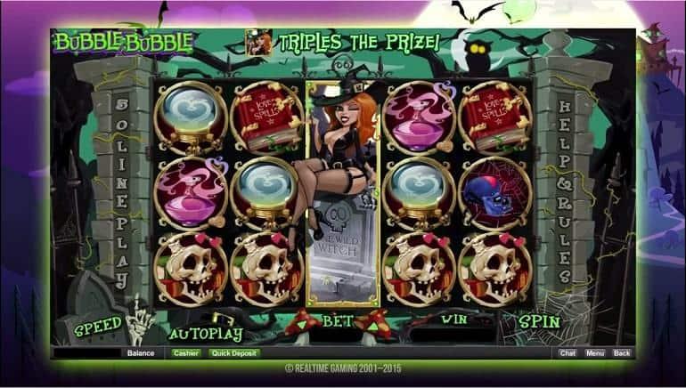 Realtime Gaming Pokies - Bubble Bubble