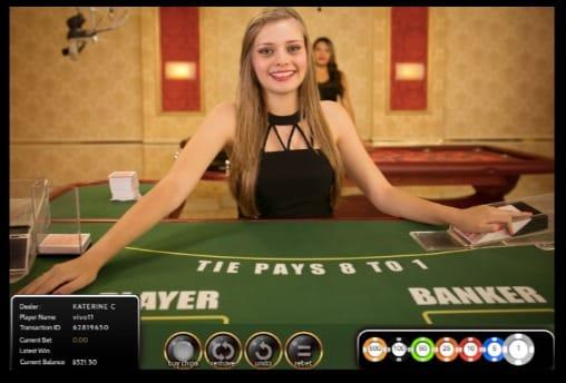 Vivo Gaming - Live Casino Dealer