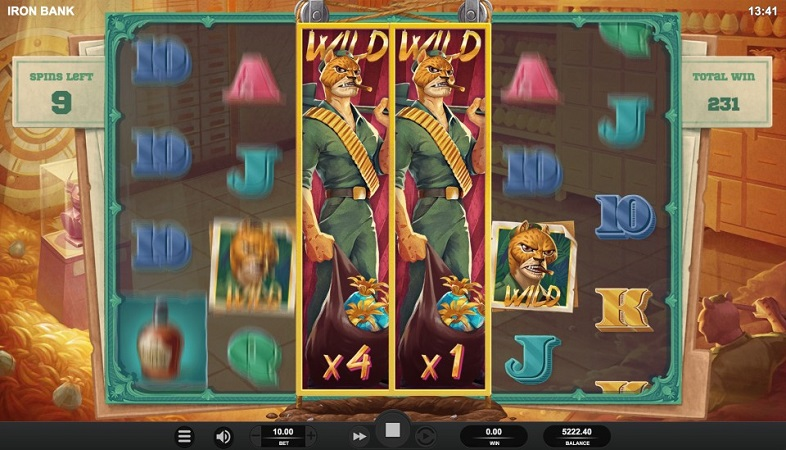 Iron Bank Pokie by Relax Gaming at Joo Casino