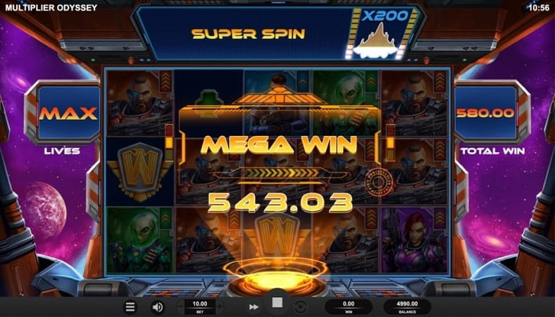 Multiplier Odyssey Pokie by Relax Gaming - Joo Casino