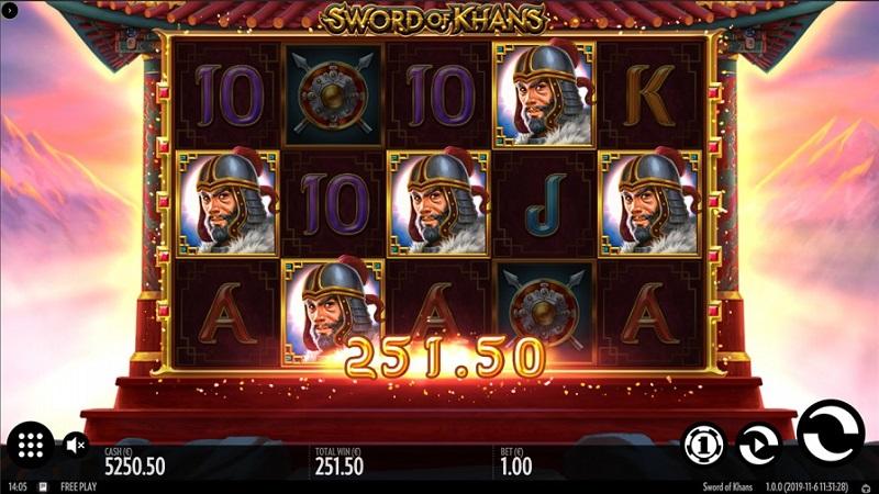 Sword of Khans Pokie by Thunderkick - JOO Casino Review