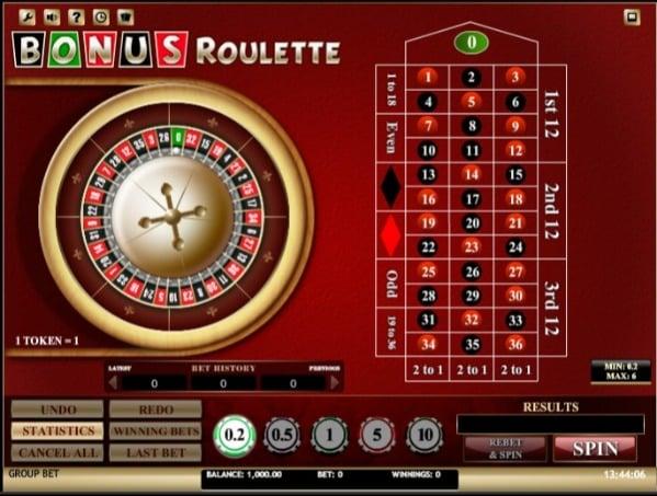 7Bit Casino - Bonus Roulette