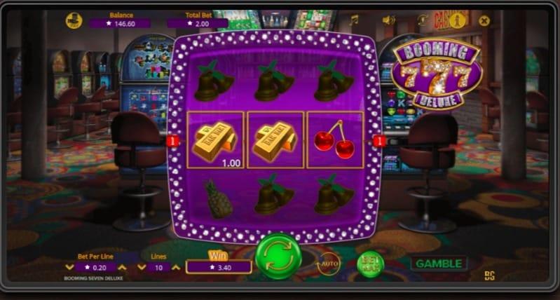 7Bit Casino - Booming 777 Pokie