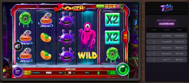 7Bit Casino - Monster Pokie