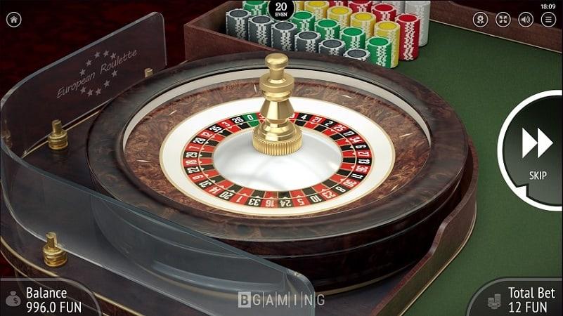 7Bit Casino - European Roulette by Bgaming