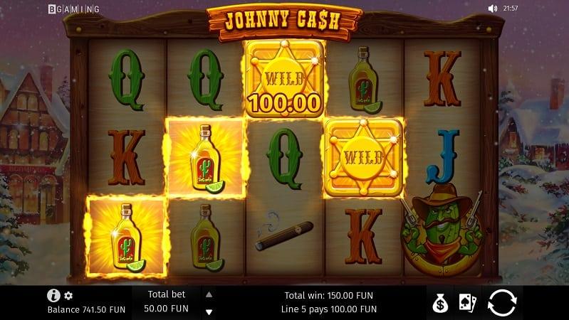 Johnny Cash Slot by BGaming at 7Bit Casino