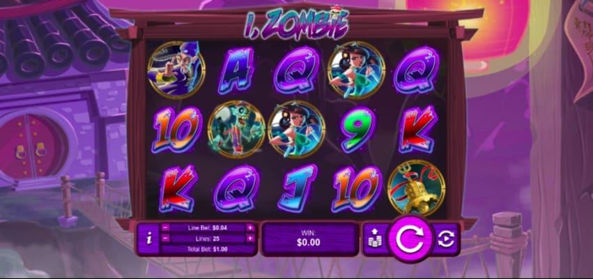 iZombie Pokie at Aussie Play Casino