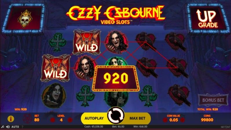 Ozzy Osbourne Pokie at Oshi Casino
