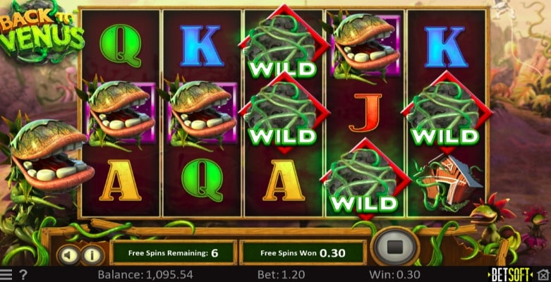 Tangiers Casino - Back to Venus Slot - Free Spins