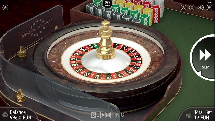 Gunsbet Casino - European Roulette by Bgaming