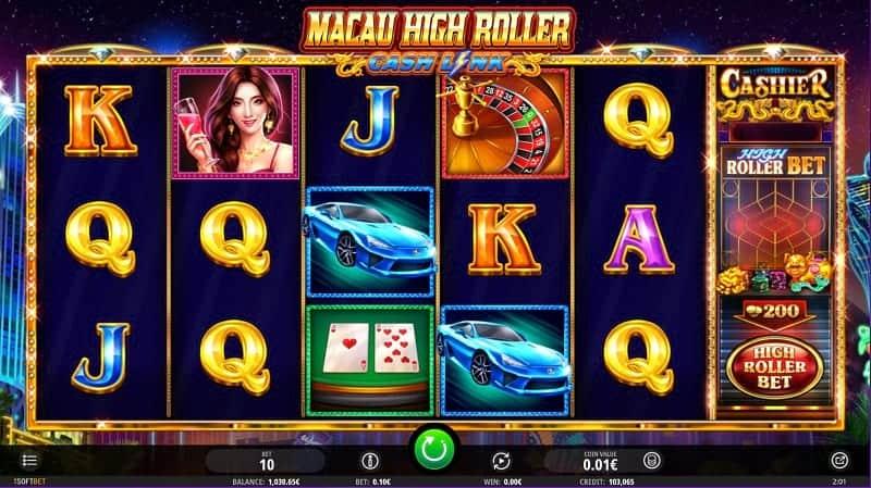 Macau High Roller Pokie at Casino Rocket