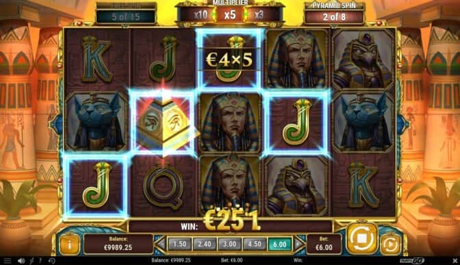 Legacy of Egypt Pokie Game at Evolve Casino