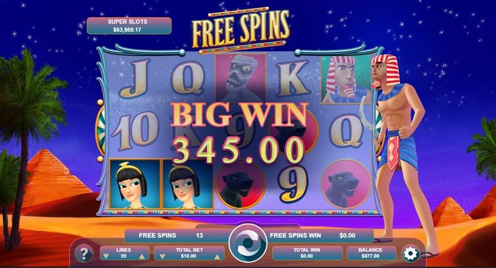Cleopatra Jackpot Pokie by Arrows-Edge at DuckyLuck Casino