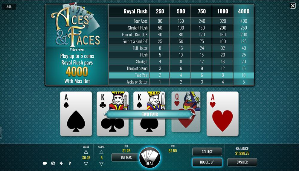 DuckyLuck Casino - Video Poker Game by Rival