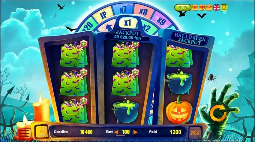 CasinoNic Review - Halloween Jackpot Pokie by Belatra