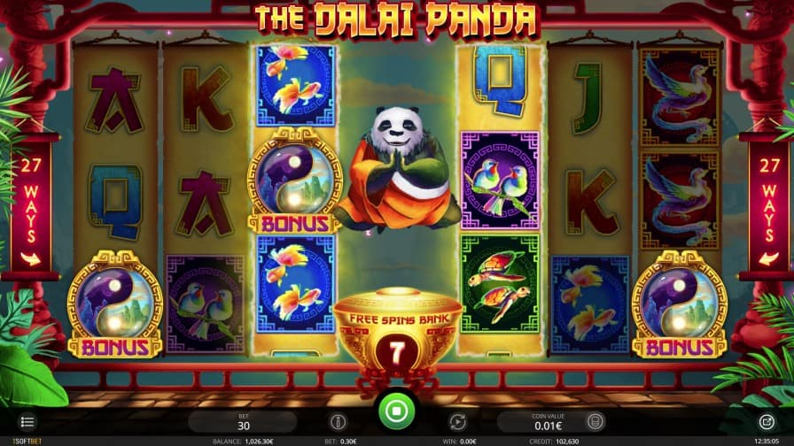 The Dalai Panda Slot by iSoftbet
