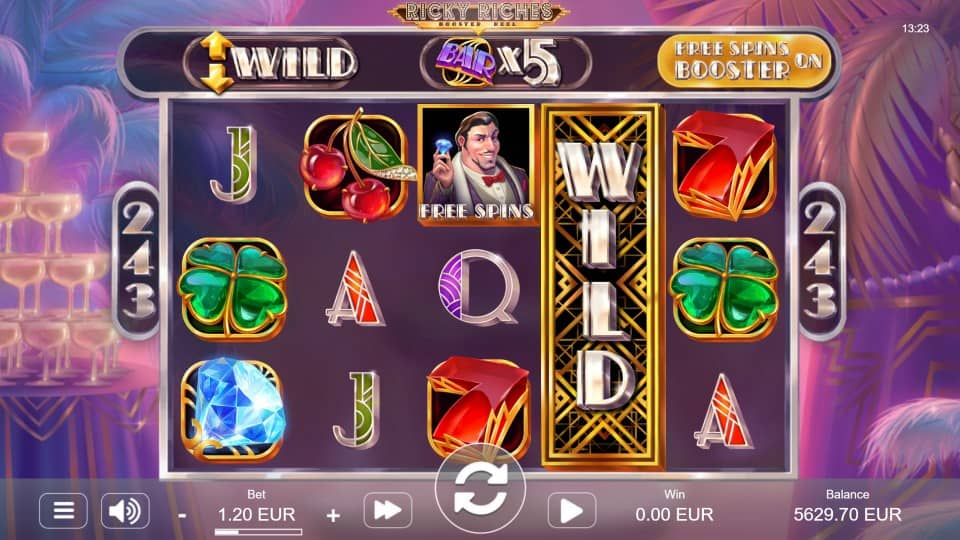 Ricky Riches Slot by STHLMGaming - Golden Crown Casino Review