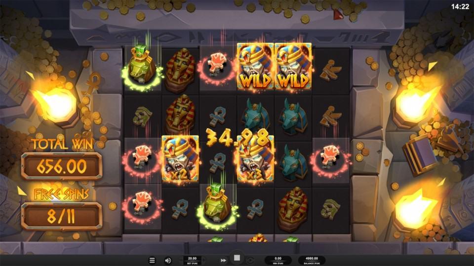 Golden Reels Casino - Ramses Revenge Pokie by Relax Gaming