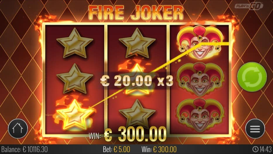 Fire Joker Slot by PlayNgo - Bitkingz Casino
