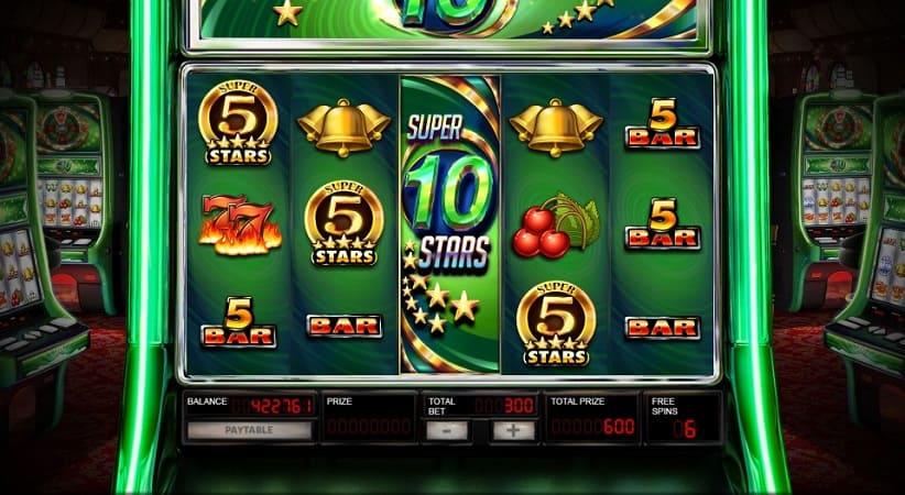 Super 10 Stars Slot by Red Rake Gaming - Casinomia