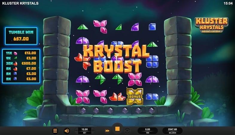 Kluster Krystals Megaclusters Pokie by Relax Gaming - Casoo Casino