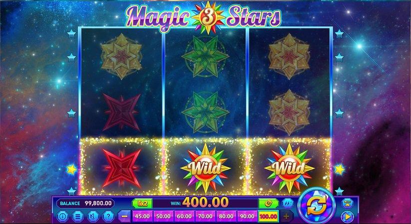 Casoo Review - Magic Stars 3 Pokie by Wazdan