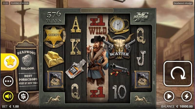 Deadwood Pokie by Nolimit - Kim Vegas Casino