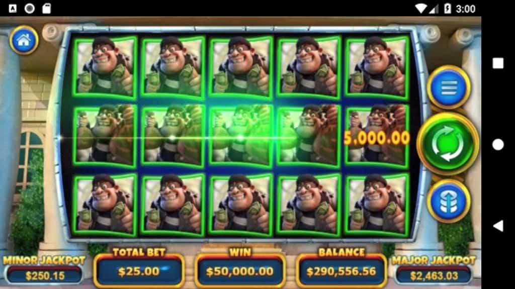 Ozwin Casino Review - Cash Bandits 3 - Big Win on Mobile