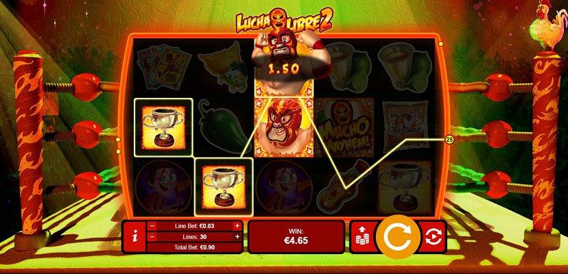 Lucha Libre 2 Pokie at Ozwin Casino