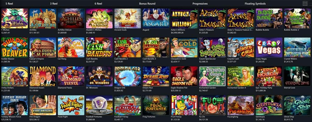 Ozwin Casino Review - Pokies Selection