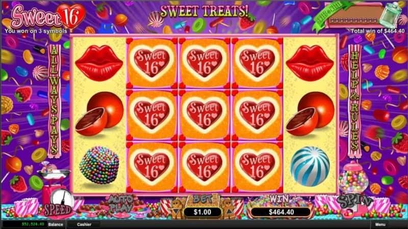 Sweet 16 Slot - Ozwin Casino