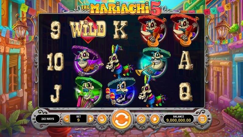 The Mariachi 5 Pokie at Ozwin Casino
