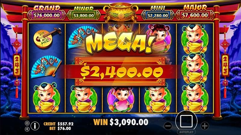 Pokie Place Casino Review - Caishens Fortune Slot by IGTech - big win
