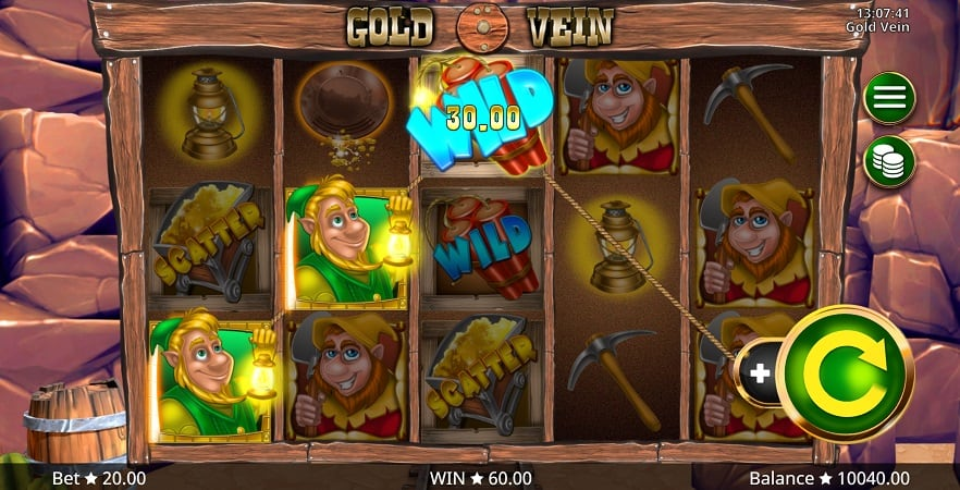 Gold Vein Pokie by Booming Games - QueenSpins Casino Review